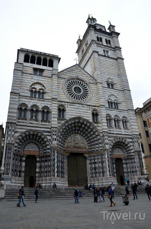Церкви Генуи очень похожи на те, что можно увидеть в Тоскане. / Фото из Италии