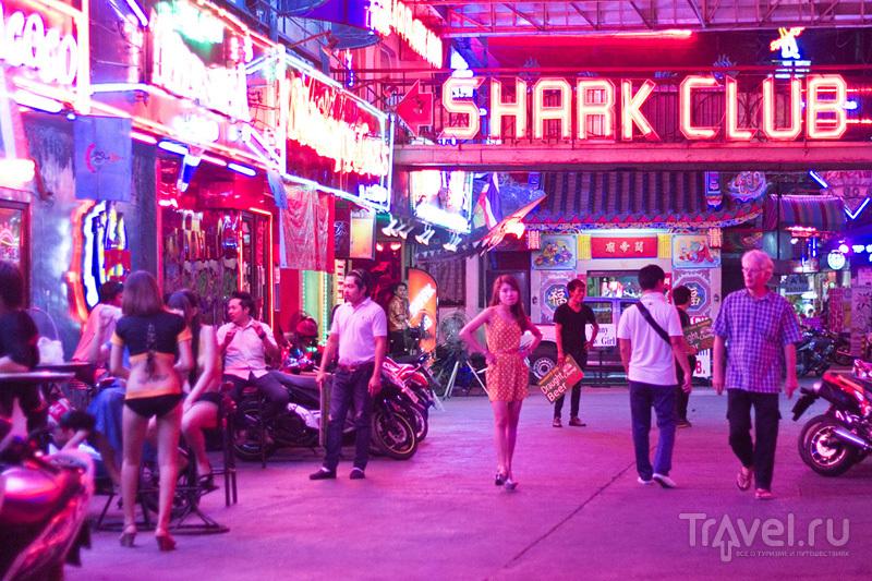 Один час на Walking street в Паттайе / Таиланд