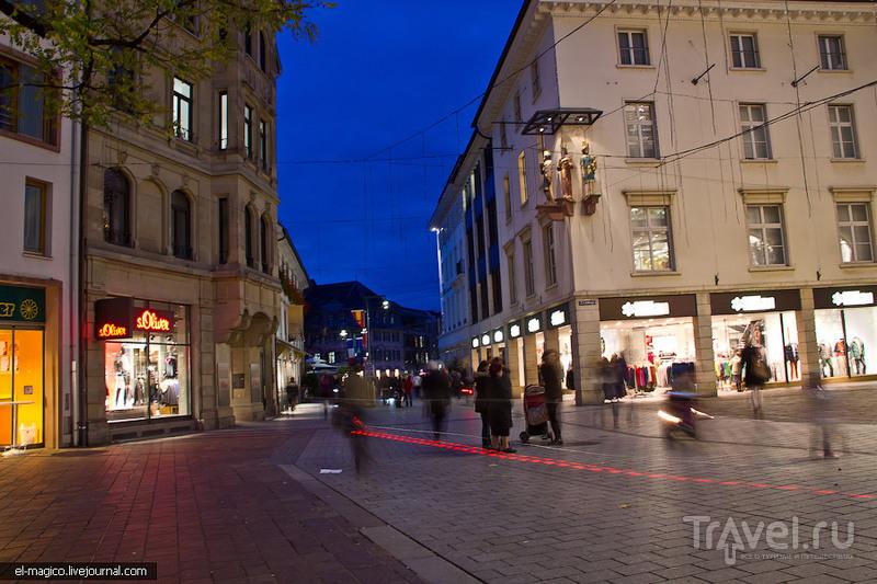 Лёррах - скромное обаяние небольшого немецкого города / Германия