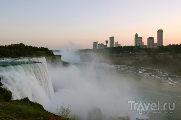 Экскурсия на Ниагарские водопады / США