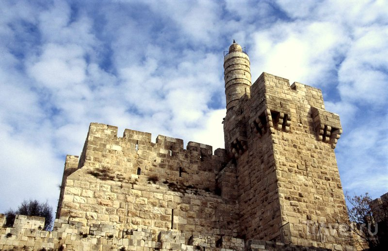 Башня Давида рядом с Яффскими воротами