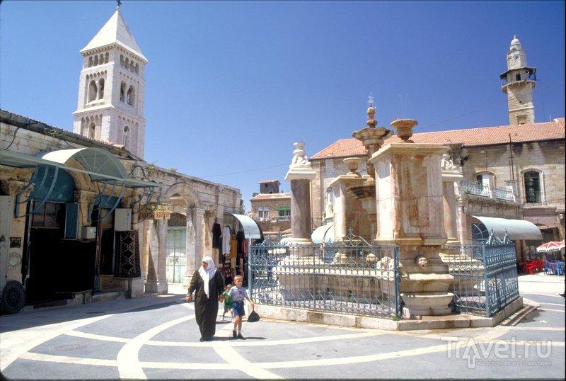Муристан - район улочек и магазинов в христианском квартале Старого Иерусалима