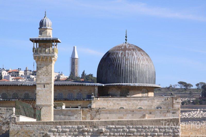 Вид на купол мечети аль-Акса