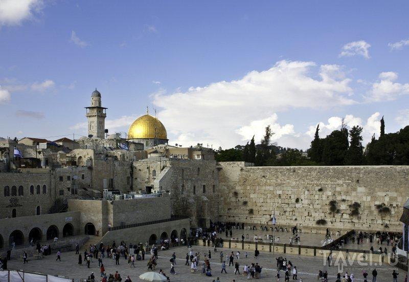 Площадь перед Стеной плача в Иерусалиме