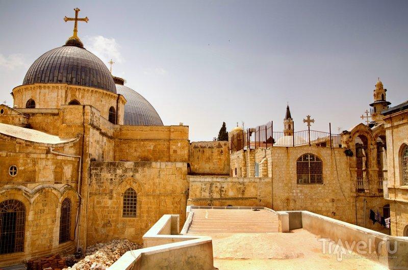 Крыша Храма Гроба Господня