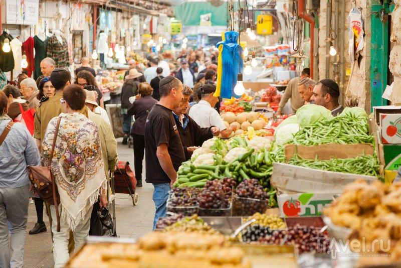 На рынке Махане Иегуда всегда можно купить свежие овощи и фрукты