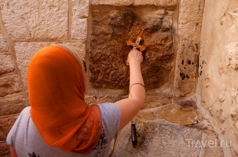Пятая станция, где Симон Киринеянин помог нести Иисусу крест