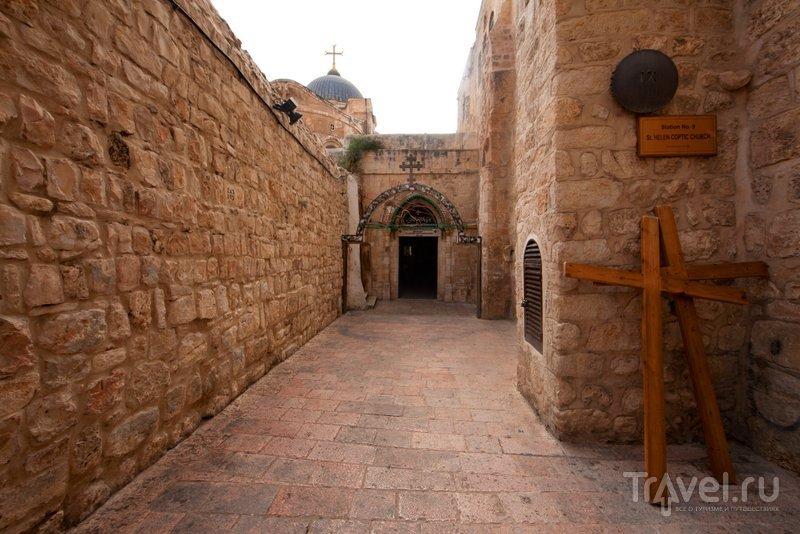 Девятая остановка: место перед Голгофой, где Иисус упал третий раз