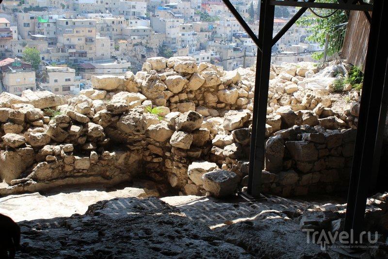 Считается, что здесь раньше располагался дворец царя Давида