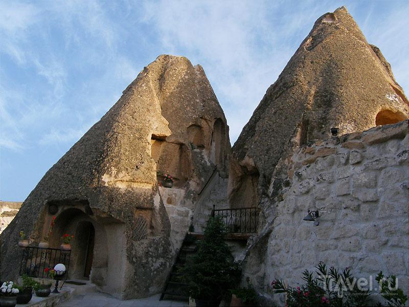 Пещеры отеля Kelebek / Турция