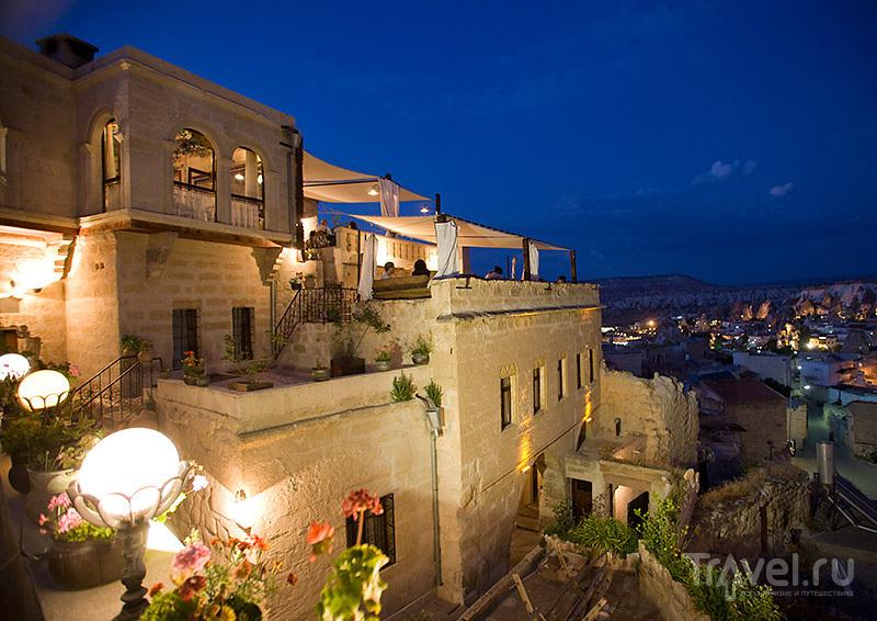 Террасы отеля Kelebek / Турция