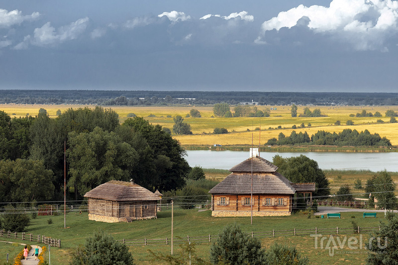 Английский замок среди белорусских лесов / Белоруссия