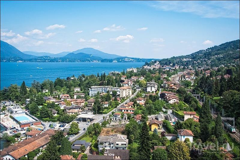Lago Maggiore: Стреза, Борромейские острова и гора Моттароне / Италия