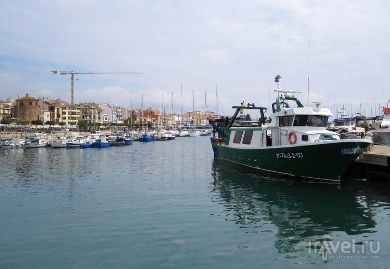 Порт в Камбрильсе