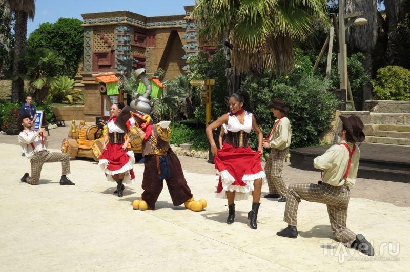 Шоу в Port Aventura