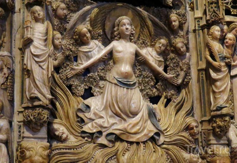 Барельеф в соборе в Таррагоне