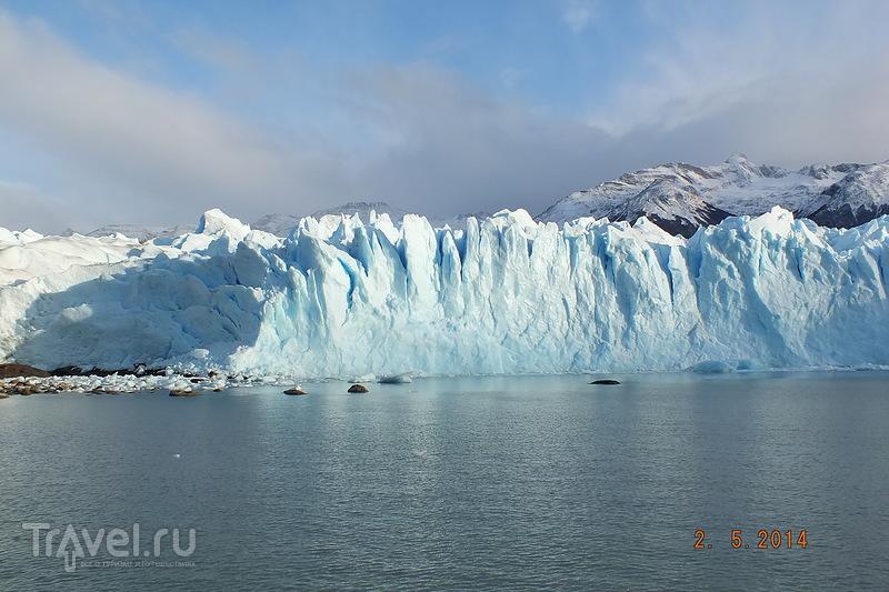 Аргентина. Экскурсия к леднику Перито-Морено на кораблике / Аргентина