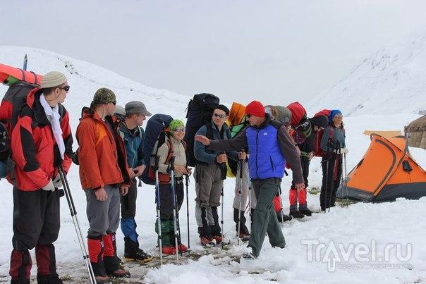 Пешком за облака - восхождение на пик Ленина / Фото из Киргизии