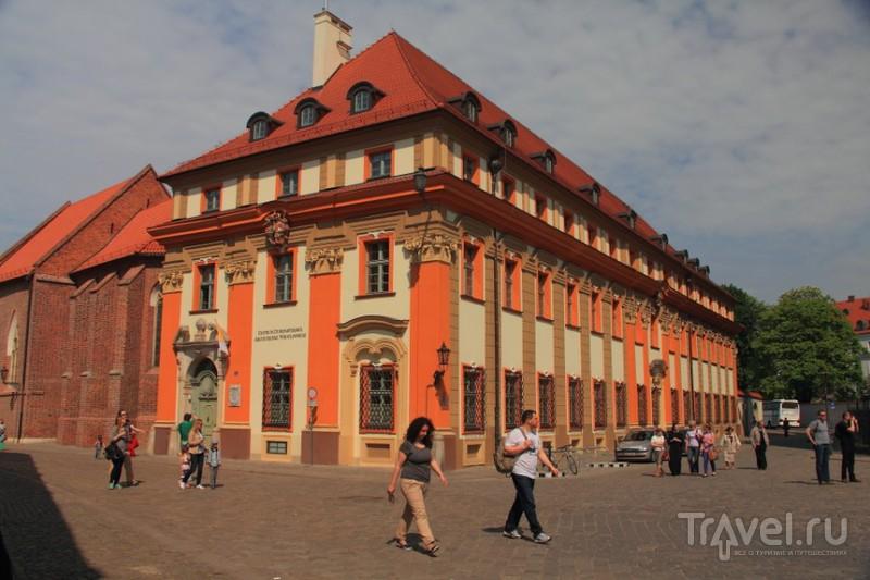 Вроцлав. Тумский остров / Фото из Польши