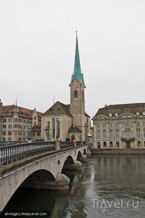Кого можно встретить на улицах Цюриха / Швейцария