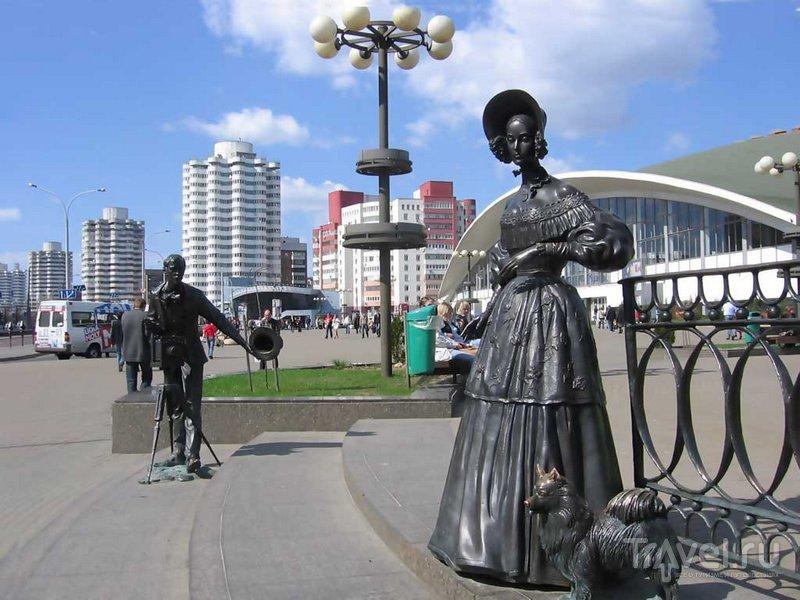 Дама с собачкой в Минске