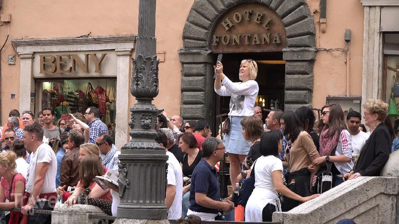 Фонтан Треви - и мы там были / Италия