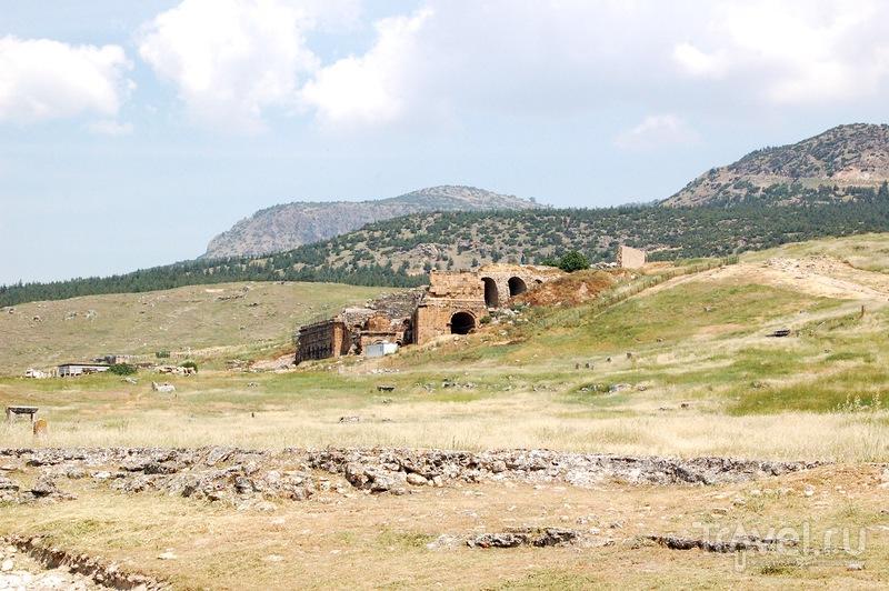 Памуккале или врата в Ад / Фото из Турции