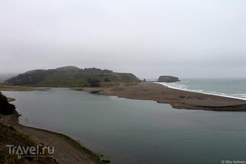 Bodega Bay и устье Russian River / США