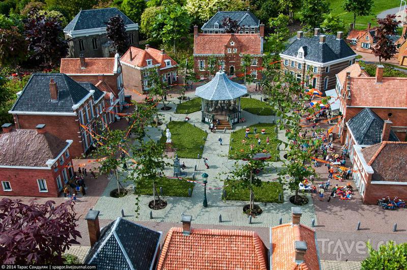 Улицами Маленькой Голландии. Мадуродам, Гаага / Нидерланды