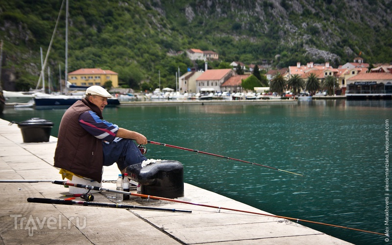 Ленивый день в Которе / Черногория