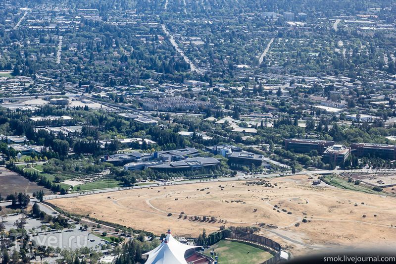 Полет над Golden Gate и по Bay Area в Калифорнии / Фото из США