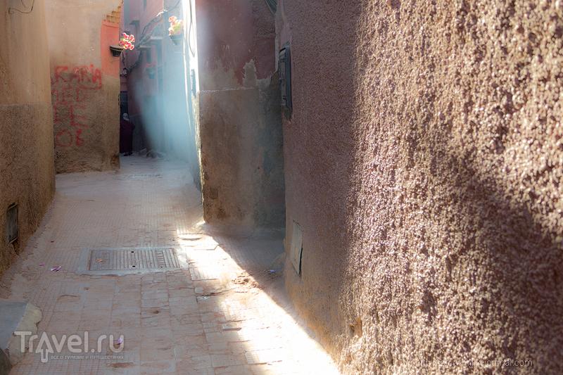 Марокко. Розовый город Марракеш / Фото из Марокко