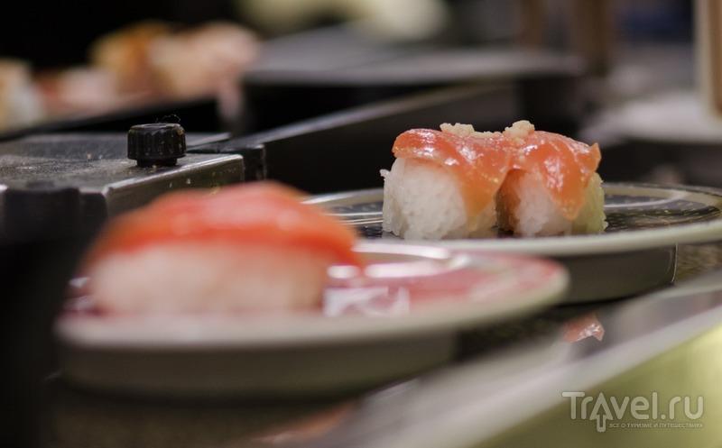 """Кайтэн-суси - """"конвейерный суси"""" / Япония"""