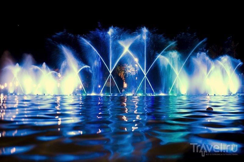 Знаменитые фонтаны Салоу.