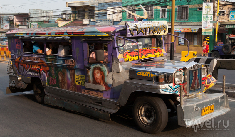 Джиппни - филиппинский национальный транспорт / Филиппины