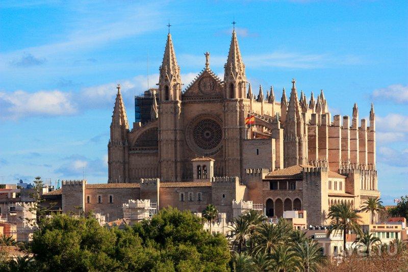 Размера кафедрального собора Пальмы поражают