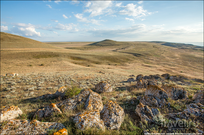 Караларские степи в Крыму / Фото из России