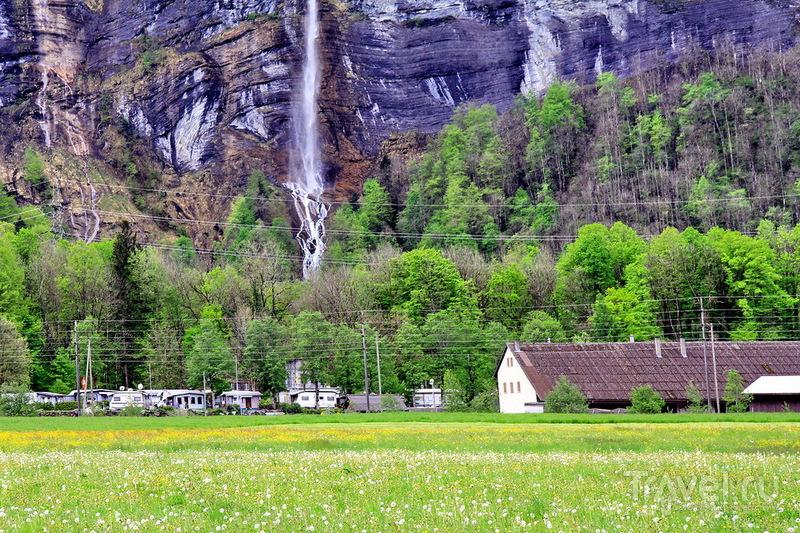 Швейцария, водопады Гисбах / Швейцария