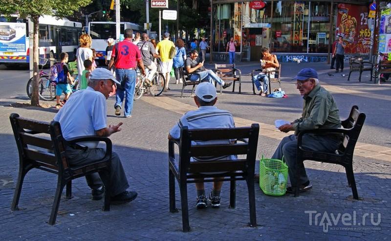 Тель-Авив. Площадь шестиконечной звезды / Израиль