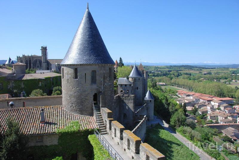 Каркассон и земля катаров / Фото из Франции