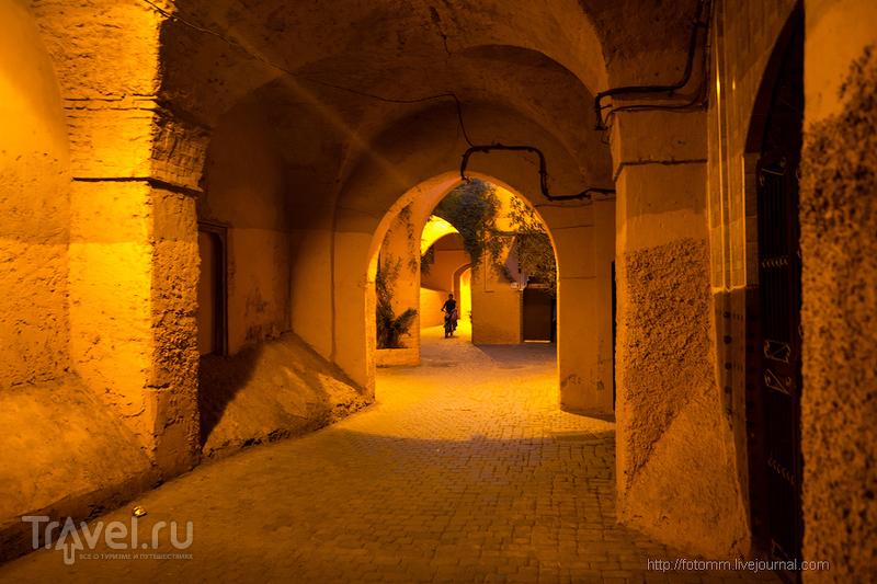 Марокко. Вечер в Марракеше / Фото из Марокко