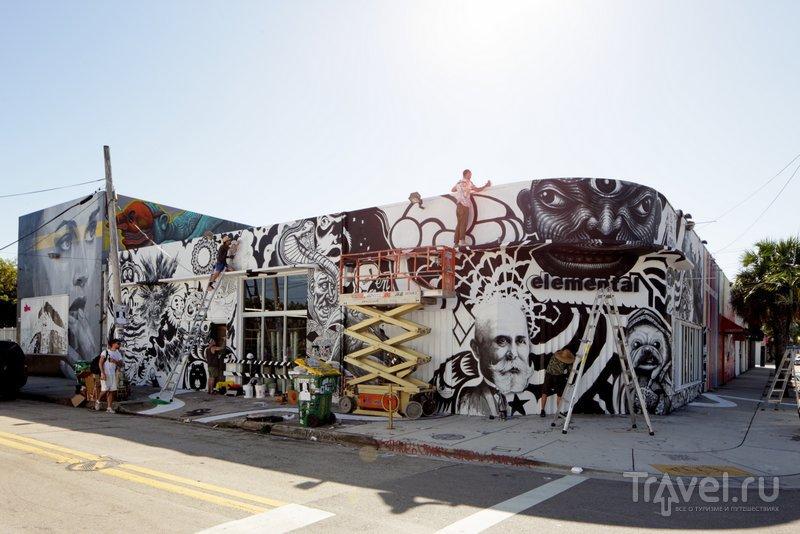 Новые произведения уличного искусства здесь создаются почти каждый день