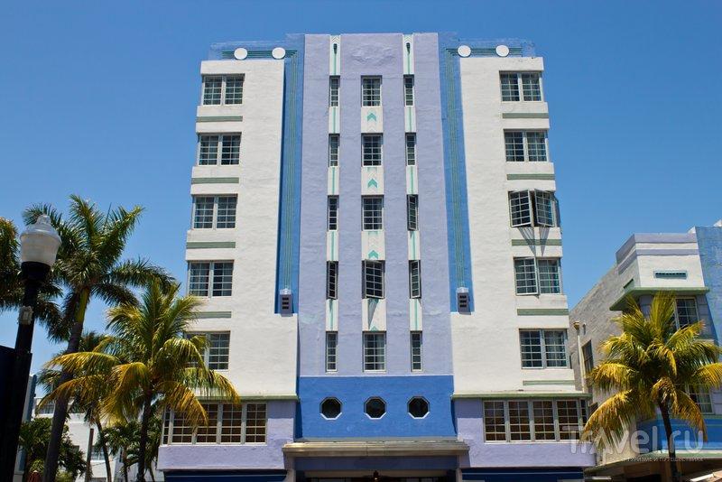 Район Арт-Деко - главная архитектурная достопримечательность Майами