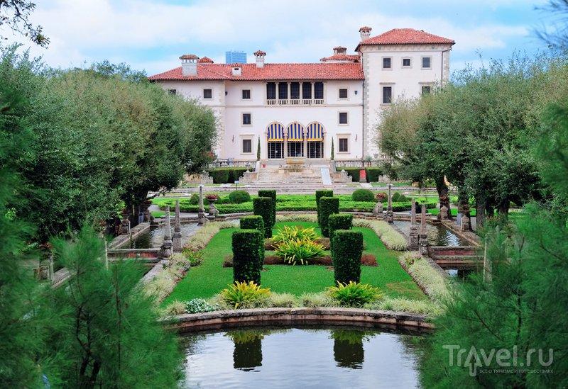 Вилла похожа на итальянские дворцы эпохи Возрождения