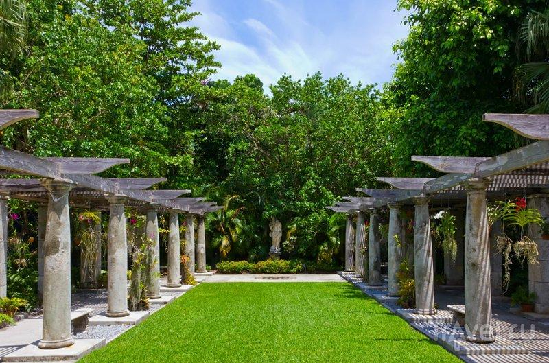 Над созданием сада работали лучшие ландшафтные дизайнеры начала XX века
