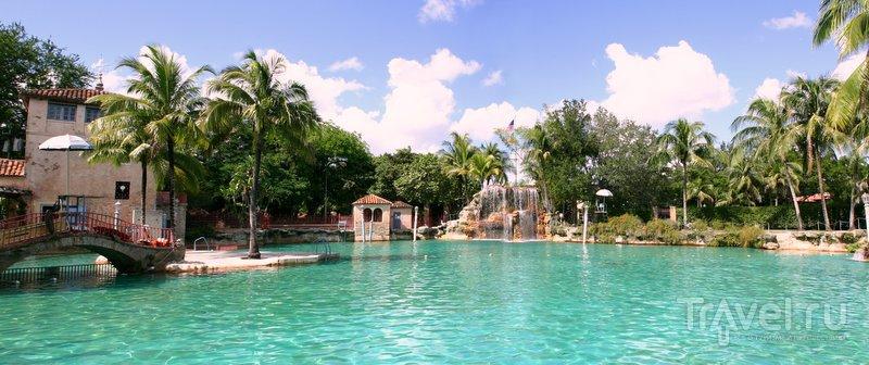 Венецианский бассейн Майами очень популярен у туристов