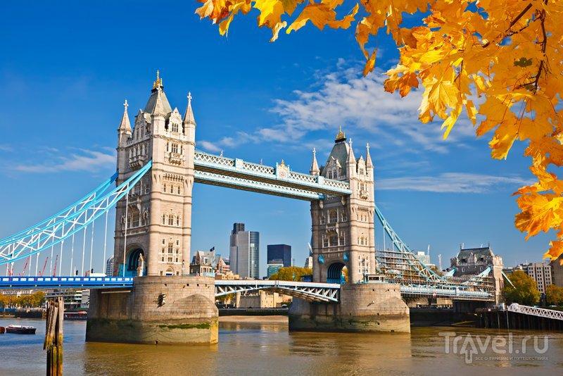 фото тауэрский мост лондон