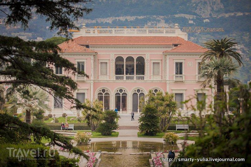 Лазурный берег: Вилла Эфрусси-де-Ротшильд (Villa Ephrussi de Rothschild) / Фото из Франции