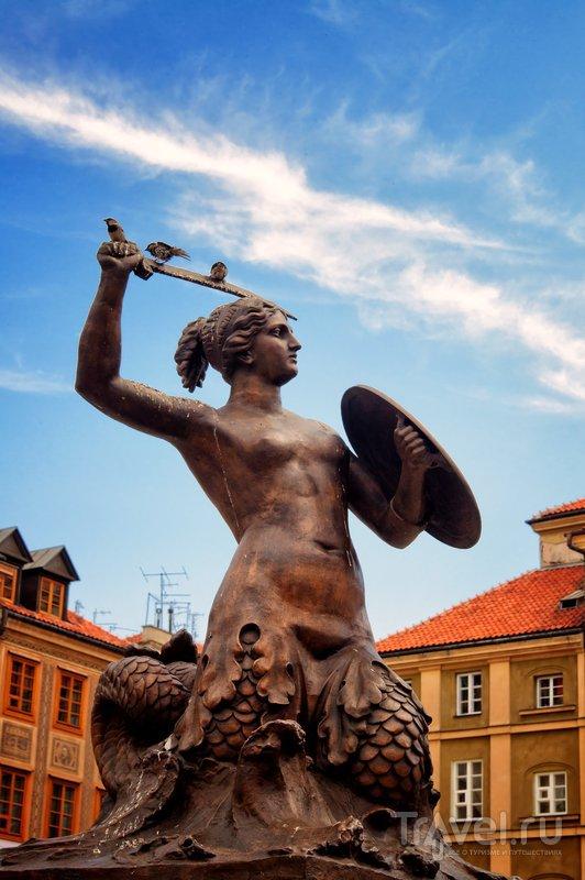 Русалка - символ Варшавы