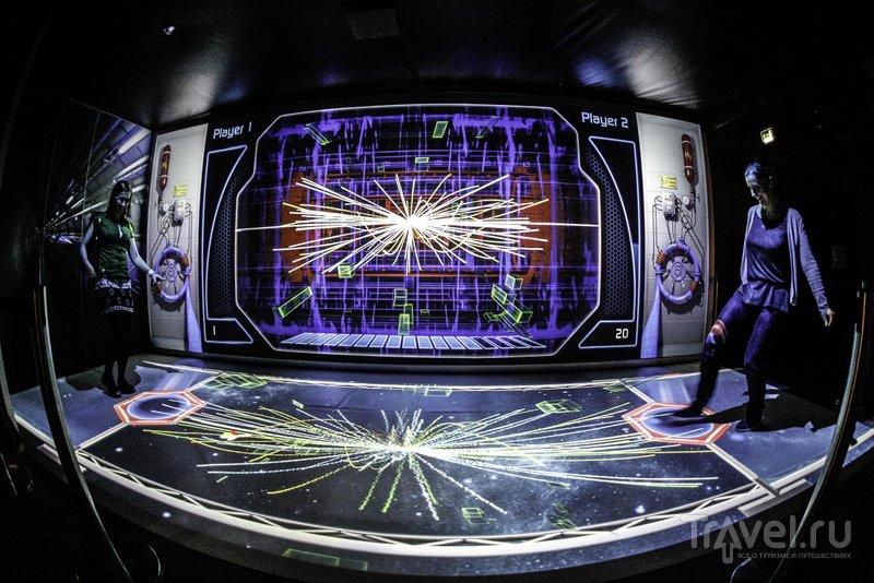 Все экспонаты в научном центре Варшавы интерактивны
